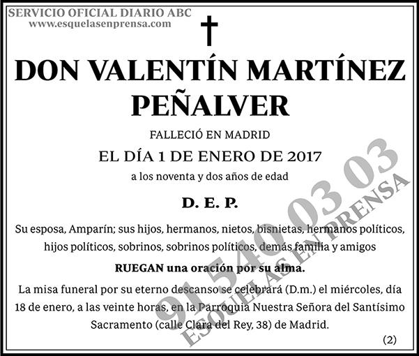 Valentín Martínez Peñalver